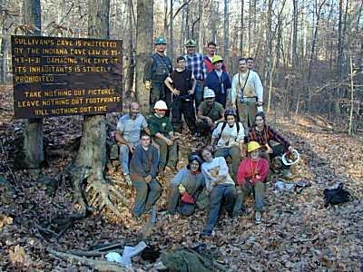 Sullivan Cave Indiana Map.Sullivan Cave Slideshow Indiana Karst Conservancy